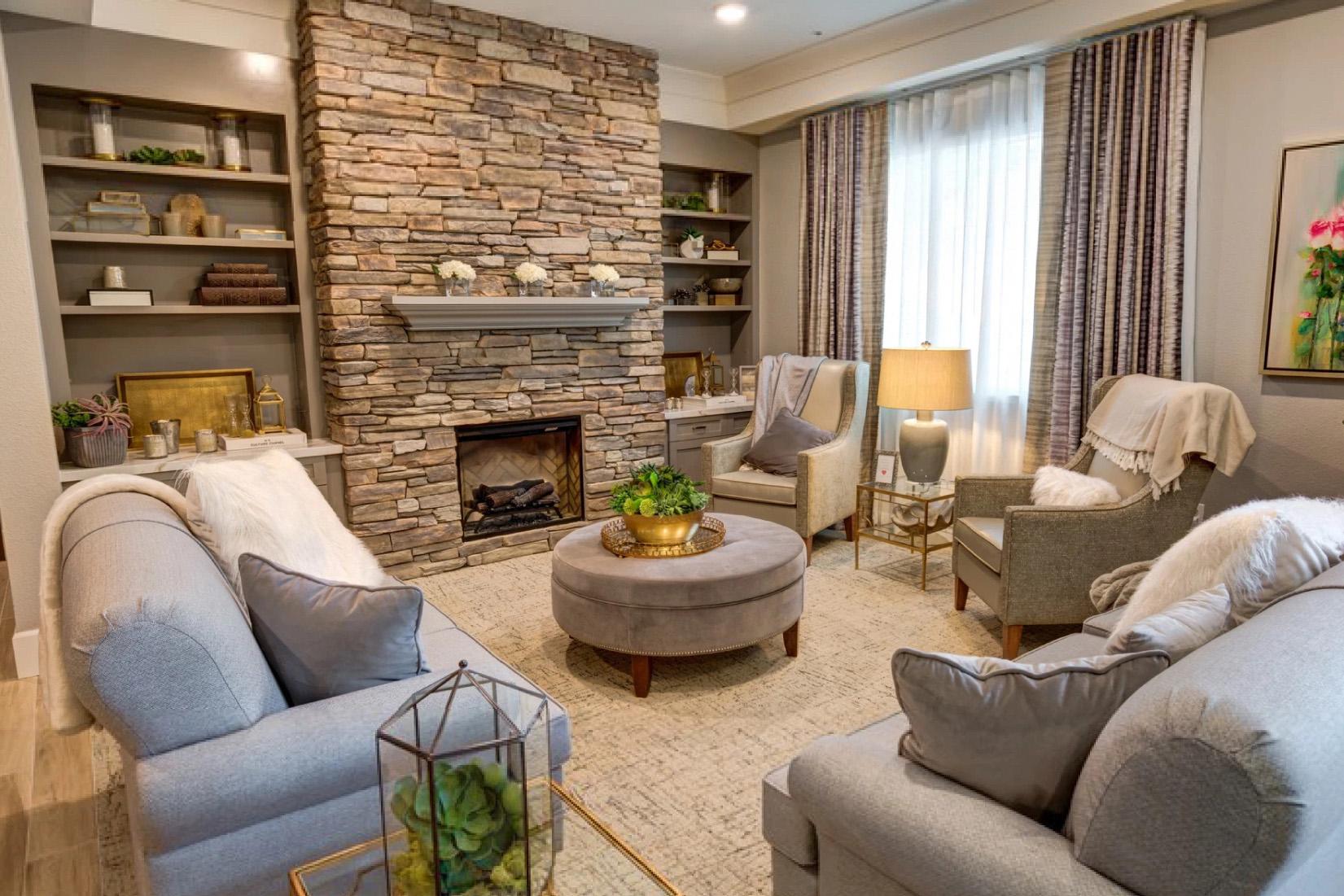 Lux Senior Living Lobby Furniture Install